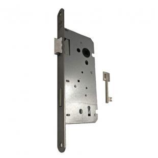 Binnendeurslot Litto A1353 27 as 110mm met sleutel - inox