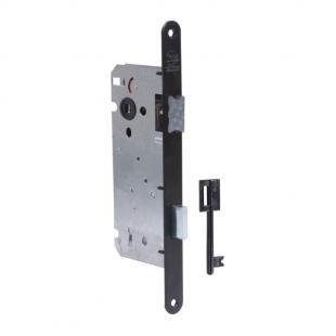 Binnendeurslot Litto A1353 2NG as 110mm met sleutel - zwart
