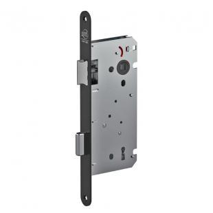 Binnendeurslot Litto A1353 2N as 110mm met sleutel - zwart