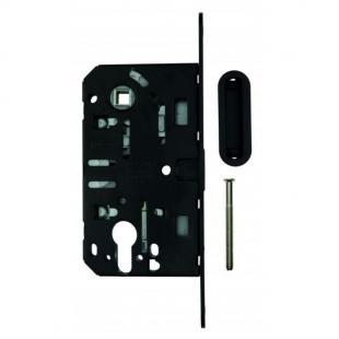 Magneetslot AGB voorplaat 18mm / 50 / 85 zwart (PZ)