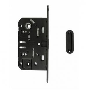 Magneetslot AGB voorplaat 18mm / 50 / 96 zwart (WC)