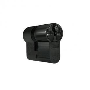 Cilinder DOM PLURA (compact) zwart F17 SKG2 - gelijksluitend