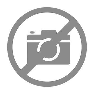 Argenta veerpaumel 80x80A zwart (RAL 9005) - Belgisch links